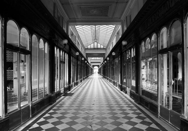 Passage Vero Dodat - a Photographic Art by Bogossian Dicran