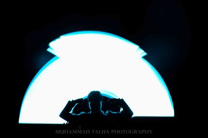 Light Painting Photography  - a Photographic Art Artowrk by Muhammad Talha