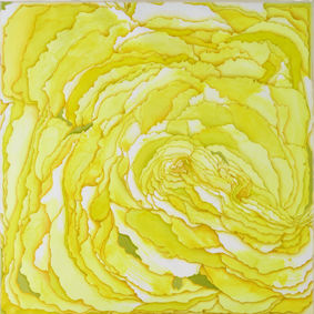 Yellow Peony - a Paint by Pao