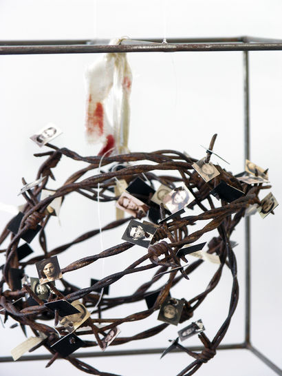 HOLOCAUSTE - A Sculpture & Installation Artwork by TIZIANA CONTU