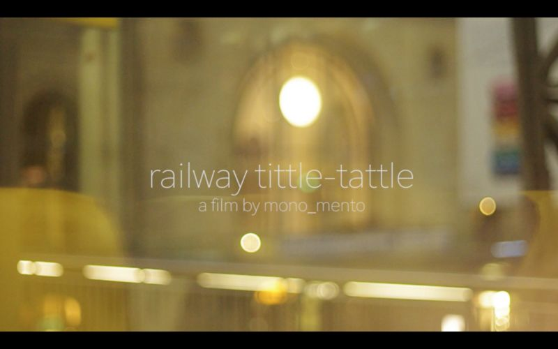 railway tittle-tattle - a Video Art by mono | mento