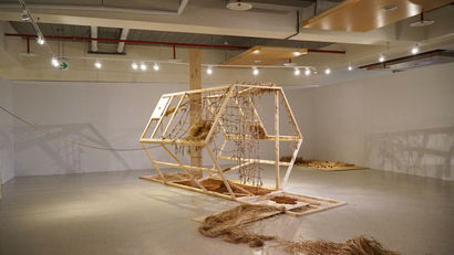 A PRIMITIVE TRIBE IN THE MODERN WORLD 1 - a Sculpture & Installation Artowrk by CHIA-YU YEH
