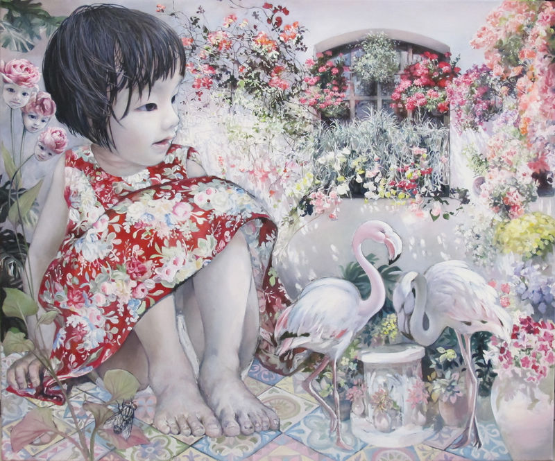 The secret garden - a Paint by HUI-CHUNG LIU