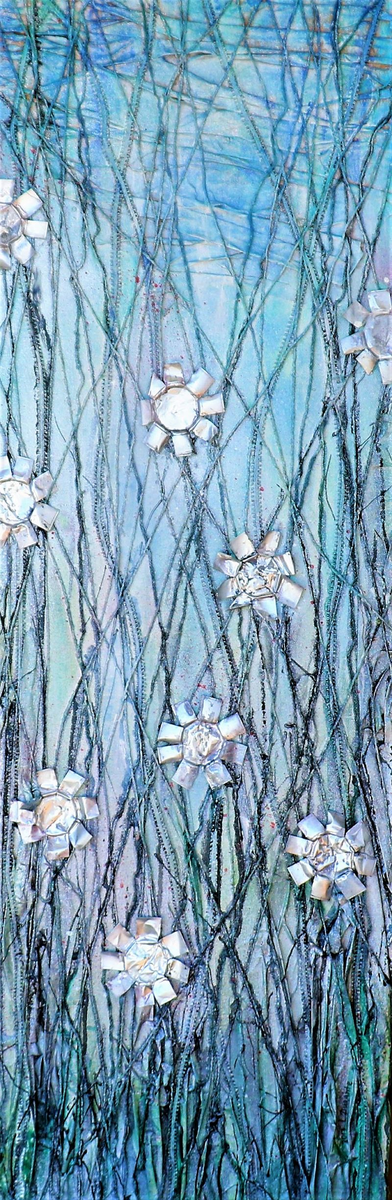 Urban nature (Blue)  - a Paint by Liudmyla Durante