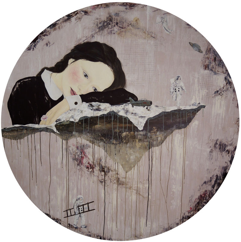 Most of the time, I only used to dream. - a Paint by Yi Shiang Yang