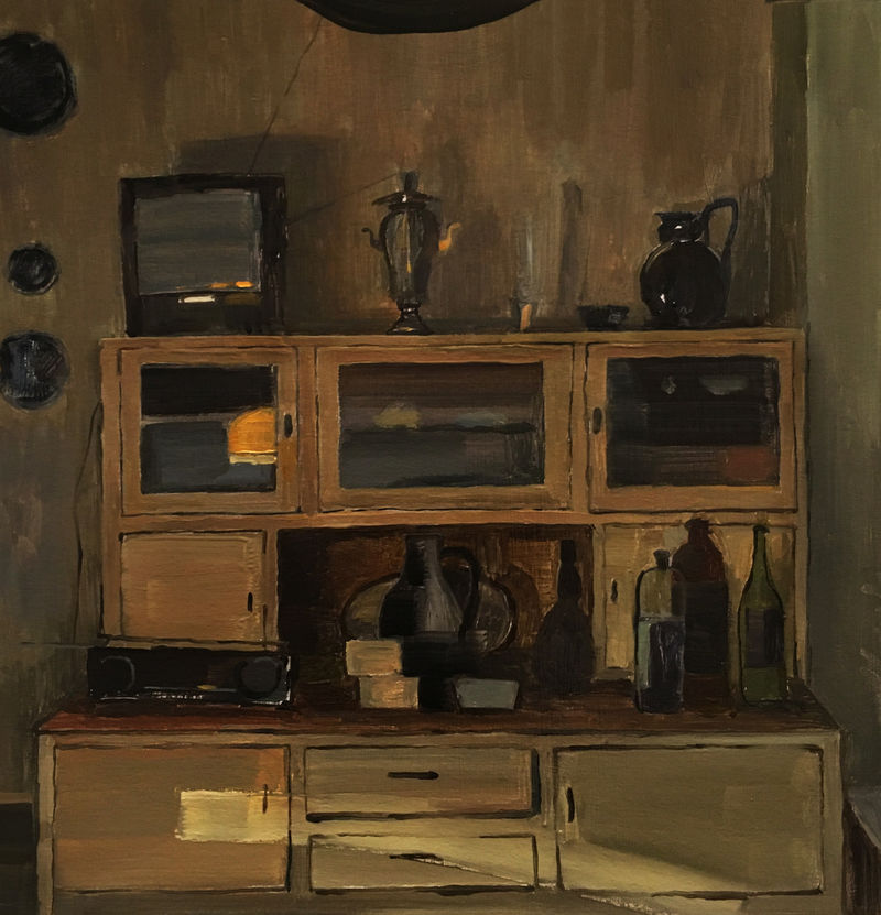Kitchen - a Paint by Ekaterina Ermolaeva