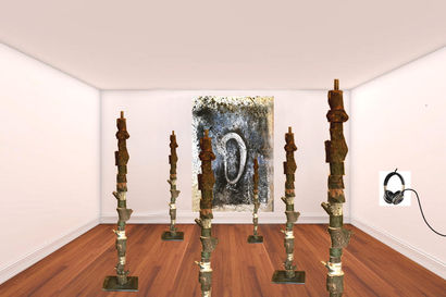 Totem - A Sculpture & Installation Artwork by Monica Gorini