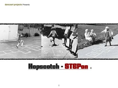 Hopscotch StepOn - a Performance Artowrk by Steven Fajana