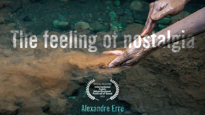The feeling of nostalgia - A Video Art Artwork by Alexandre Erre