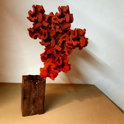 MODULAR CORE #3 FLAME - A Sculpture & Installation Artwork by LATINA ZOICH