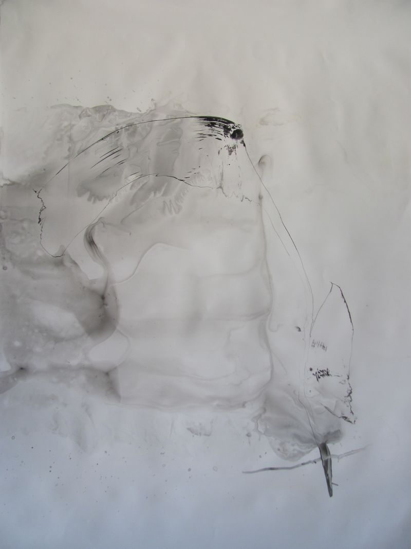 Ink Wash (Series) - a Paint by MARGARETA Anna Leuthardt-Schwager