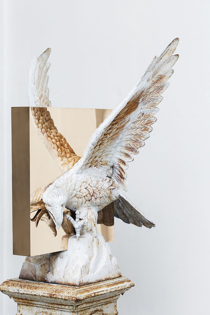 """Boolean"" And (eagle) - A Sculpture & Installation Artwork by studio nucleo"