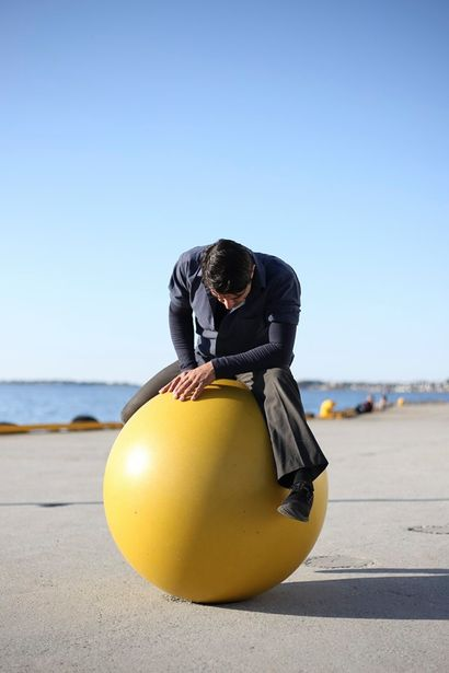 ORBITAL - Long Durational Performance - a Performance Artowrk by IOANNIS KAROUNIS