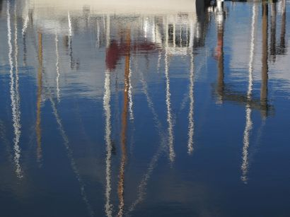 boats\'s mirror  - a Photographic Art Artowrk by hosein ghazian