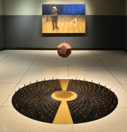 Dodecahedron - A Sculpture & Installation Artwork by Sergio Zapata