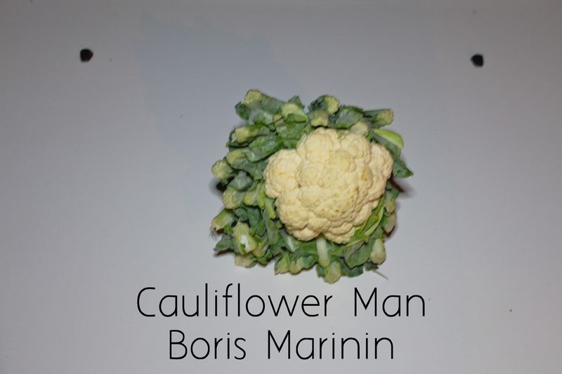Cauliflower Man - a Video Art by Boris Marinin