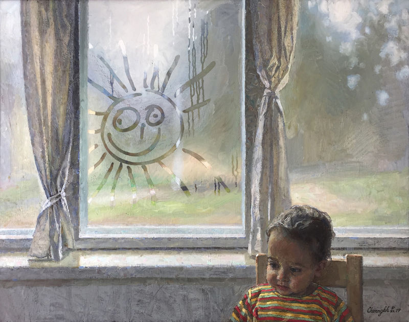 Let the sun always shine! - a Paint by Elena Chernykh