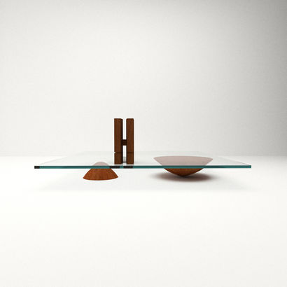BRASILIA LOW TABLE - a Design Artowrk by Timothee Leclabart