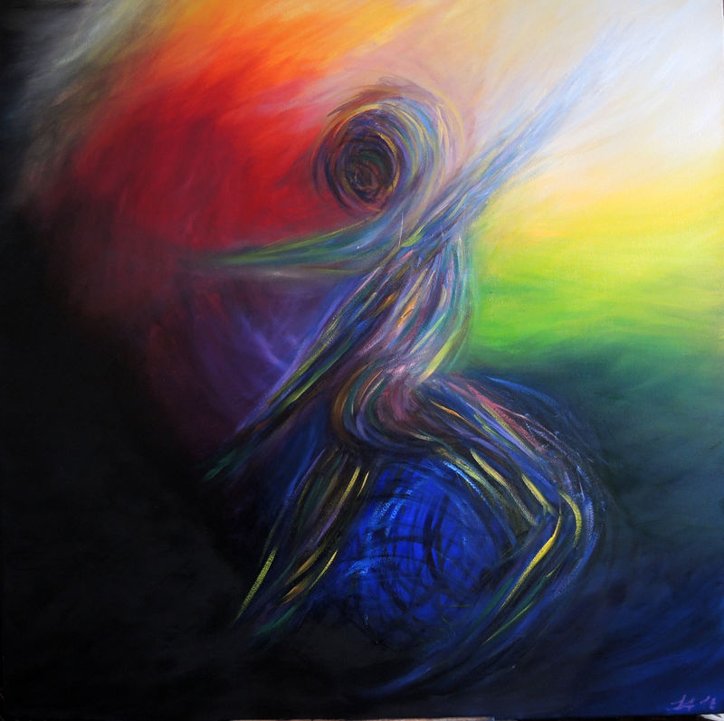 Child of Hearth - Harmony - a Paint by Lidia Arreghini