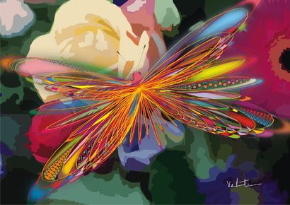 Butterfly - A Digital Art Artwork by Alexandre Valentim