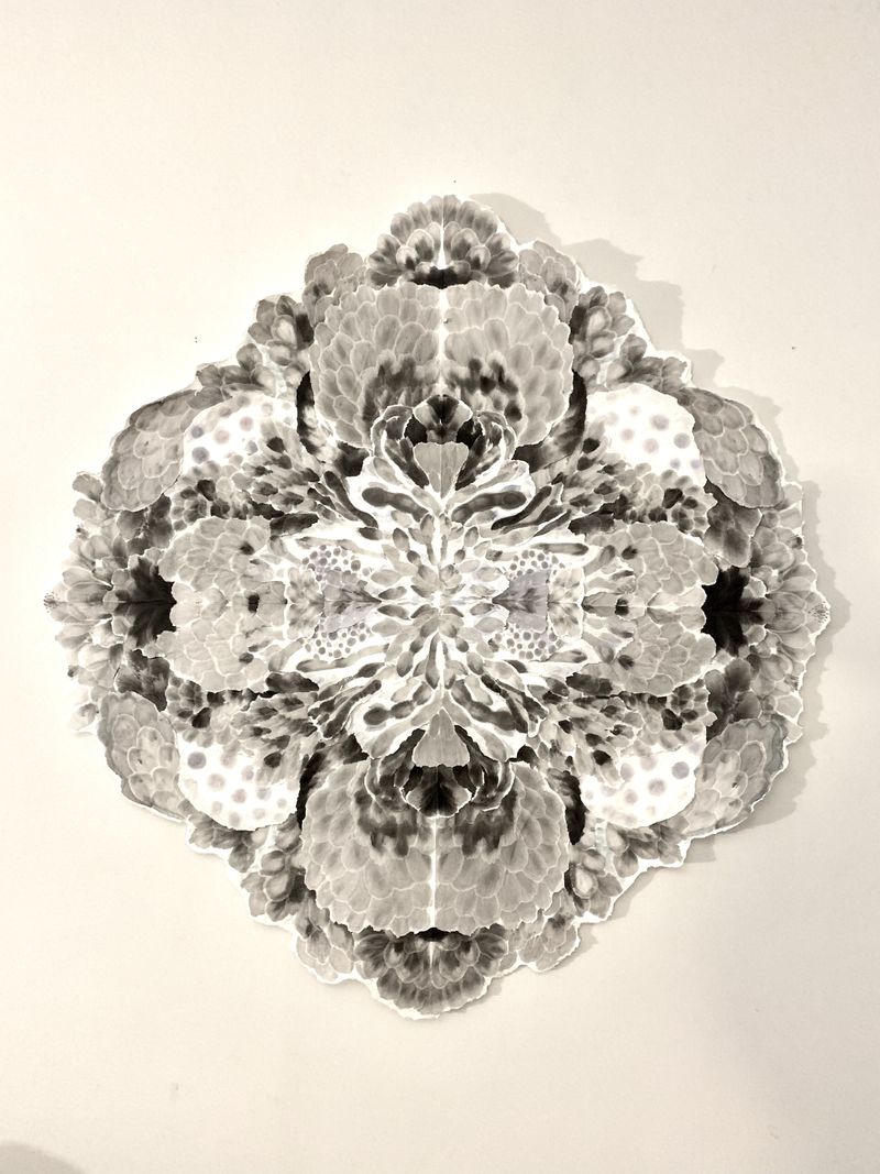 Mandala Orchid - a Sculpture & Installation by Allison Svoboda