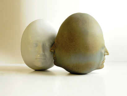 No. 2- Of a Series of Self-Portrait - a Sculpture & Installation Artowrk by Mansa Sabaghian
