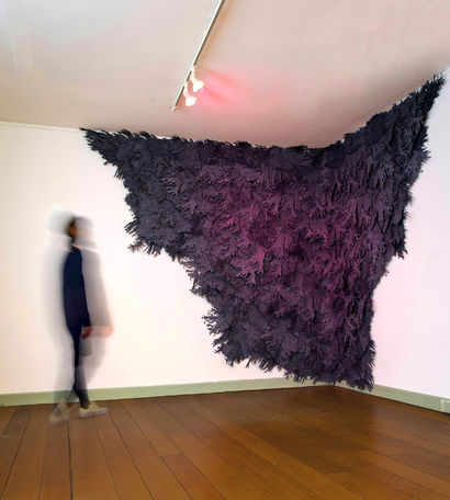 Unfamiliar Landscape after Pink Tsunami - a Sculpture & Installation Artowrk by Ai Hashimoto
