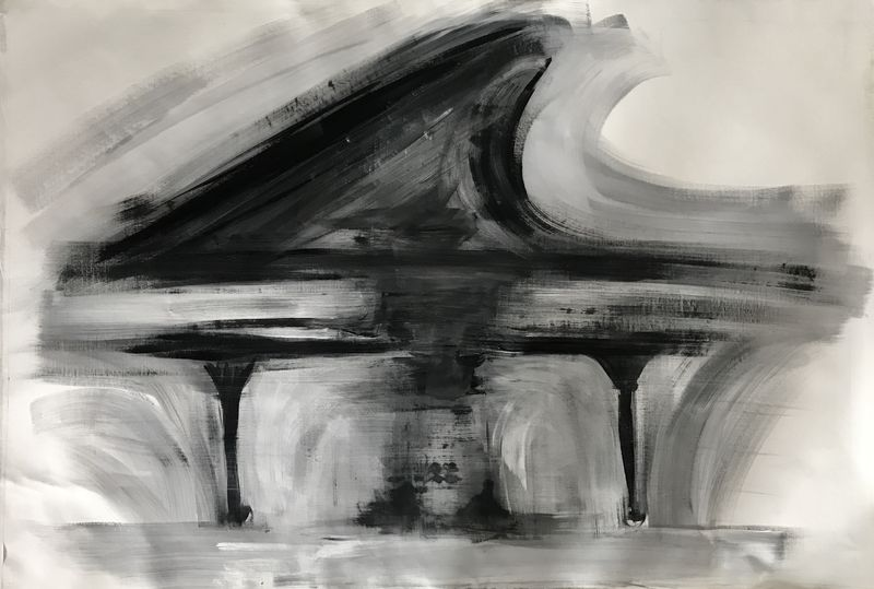 Pianista  - a Paint by Diana Pintaldi