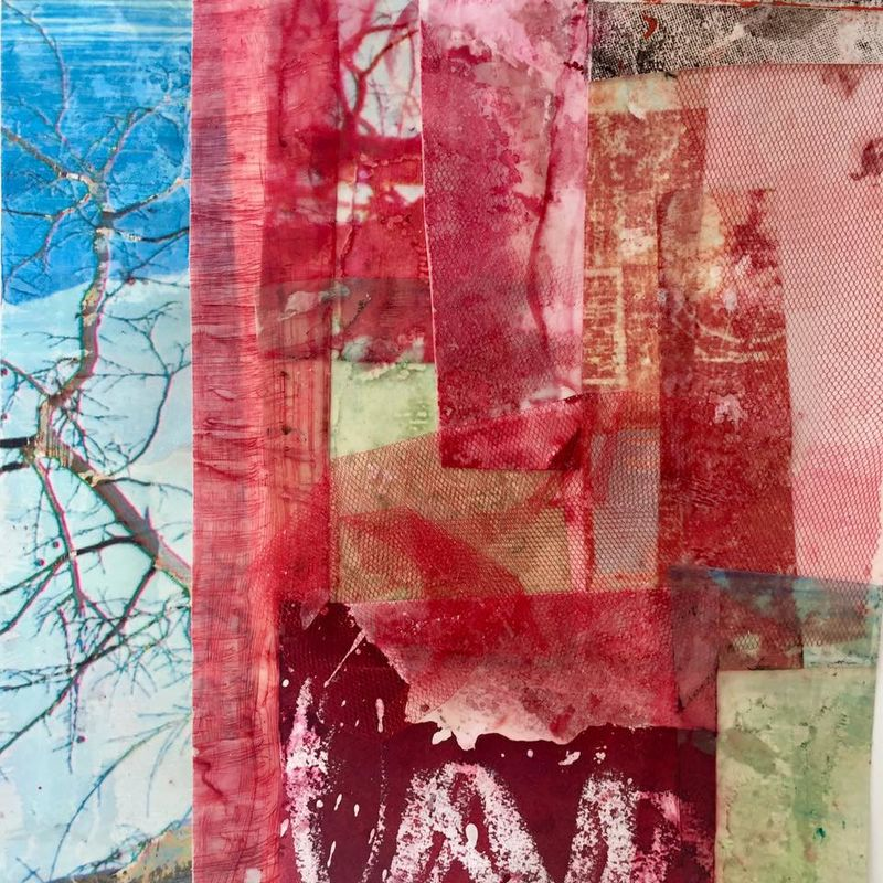 Hommage to Robert Rauschenberg - a Paint by wintgens astrid charlotte