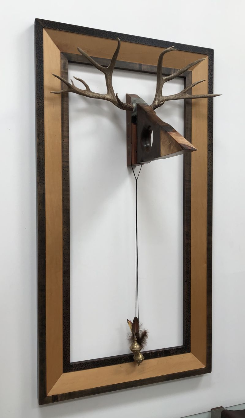 Stag - a Sculpture & Installation by Day