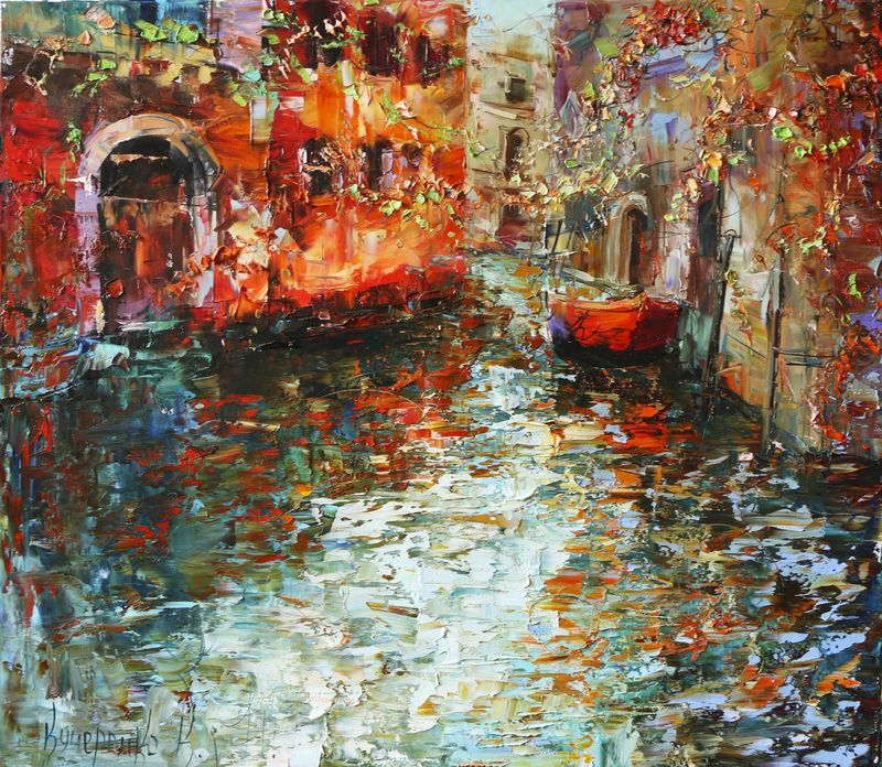 Venice in her world - a Paint by