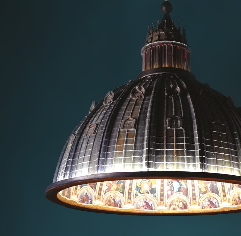 AMeBE - Cupola, e luce fu! | Arte Laguna World