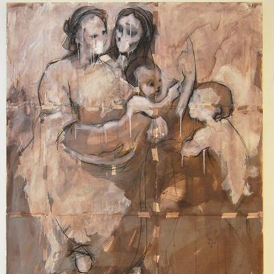 Alex Raso - Madonna, Sant'Anna, il Bambino e San Giovannino